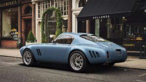 GTO Engineering Squalo, klasik bir Ferrari'nin modern bir yeniden yorumlaması olarak