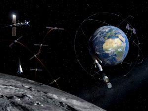 ESA, Ay için Starlink-GPS tarzı hibrit ağda ilerliyor