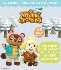Hayvan Geçişi Yap-A-Bear Peluşları Kış Kıyafet Seçeneklerini Almak
