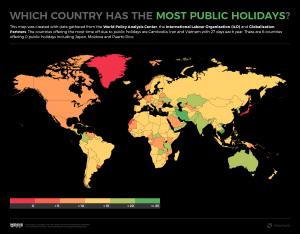Hangi ülke işten en çok izin alıyor?