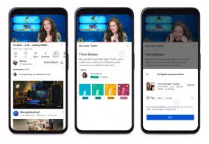 YouTube, İçerik Oluşturuculara Video Yüklemeleri İçin Bahşiş Vermenin Yeni Bir Yolunu Sunuyor